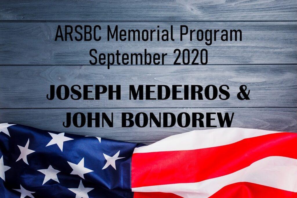 ARSBC Memorial Program